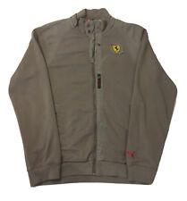 Puma X Ferrari Scuderia Full Zip Up Jacket Sweatshirt Men's Size Large