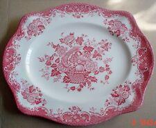 Johnson Brothers BIRD OF PARADISE Pink Red Medium Platter