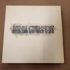 KING CRIMSON Starless and bible black Island ILPS 9275 Rare 1974 prog LP pink ri