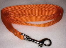 Pet Luv Orange Dog 5ft Leash For Medium Dogs Under 20lbs - Free Shipping