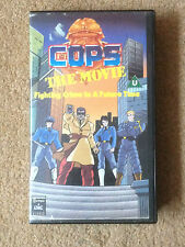 COPS The Movie (Animated) RARE VHS Tape