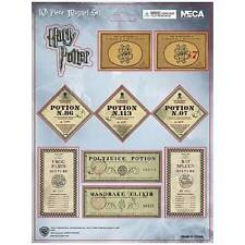 10 pc Harry Potter MAGNET SHEET / SPELLS & POTIONS / New in package