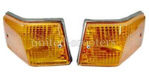 Vespa Rear Indicator set Amber LH & RH PX 125 150 200 LML Stella
