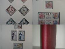 COLLECTION MONACO 1960 a 1972  PREO PA TAXE  NEUF** dans album SAFE COTE 952€