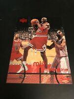 1998 UPPER DECK MJX MJ TIMELINE 2ND Q MICHAEL JORDAN #23 CHICAGO BULLS RARE #92