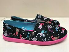 Girl's Sketchers Solestice Black-Multi Mer-Pets 85288L/BKMT