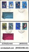 Poland - 1964 Reserch In Space - Fdc 2nos