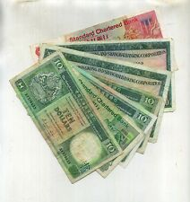 1977 1983 1985 HONG KONG $160 FACE VALUE CURRENCY LOT OF 7 NOTES