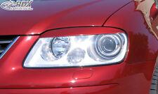 RDX Scheinwerferblenden VW Touran 1T -2006 / Caddy -2010 Böser Blick Blenden