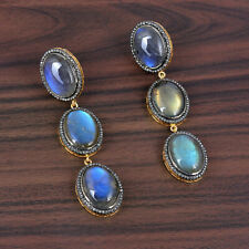 14K Gold Indian Handmade Dangle Earrings New listing