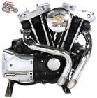 "1 3/4"" Chrome LAF L.A.F. Exhaust Header Set Drag Pipes Harley Ironhead Sportster"