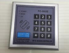 125KHz RFID Proximity EM ID Card Key Tag Reader Keypad access control 1K users