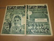 IL CALCIO ILLUSTRATO N°38 SETTEMBR 1937 SQUADRA FIORENTINA BARI MILAN ROMA BOFFI