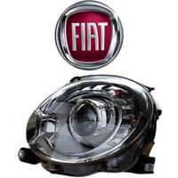 Faro Anteriore BI XENON FIAT 500 Fanale Proiettore dal 2007 al 2015 Sx Sinistro