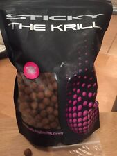 THE KRILL BOILIES, STICKY BAITS  BOILIES, Carp Fishing ,SESSION PACK,, 30x12mm