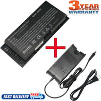 Charger+Battery for Dell Precision M4600 M4700 M4800 M6600 M6700 M50 FV993