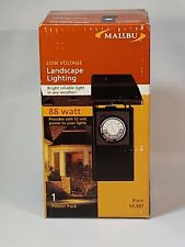 New listing Malibu Intermatic Ml88T Transformer Lighting System & Timer Low Voltage 12v New