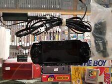 Sony PSP (PSP-3001) - PlayStation Portable - Black tested 4 gb mem card