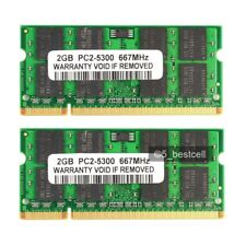 NEW 4GB 2x2GB PC5300  DDR2 PC2-5300 667Mhz 200pin  Memory For  iMac (Mid 2007)