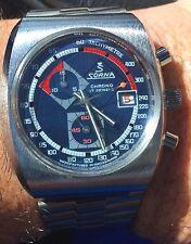 Rare Vintage 70's Sorna Chronograph 17 Jewels Mens Watch
