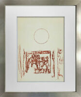 "Max ERNST Lithograph SIGN Limited Ed. on Arches ""Solstice"" w/Frame Included"