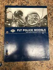 *2008 Harley-Davidson FLT Police Models Parts Catalog, Used, 99545-08*