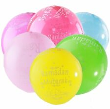 High Quality RAMADAN BALLOONS ( 10 Pack ) - Mixed Colours Decorations Party