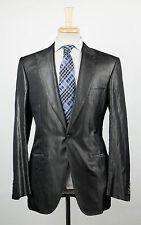 New. BRIONI Pallavicin Gray Silk Blend Peak Lapels Tuxedo Suit 50/40 R $5195