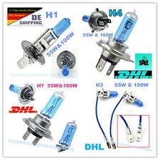 H1 H3 H4 H7 55W/100W XENON LOOK OPTIK HALOGEN LAMPEN E-PRÜFZEICHEN VA