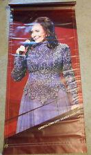 RARE!! Loretta Lynn Grand Ole Opry Vinyl Poster Banner
