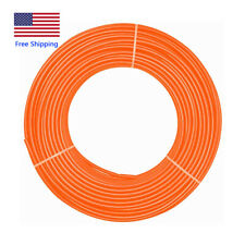 8mm x 5mm Orange PU Polyurethane Air Tubing Pneumatic Pipe Tube Hose 12Meter