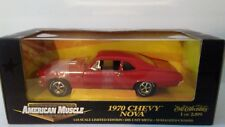 Red 1970 Chevy Nova American Muscle