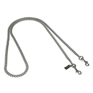 NWT COACH Luxury Chain Strap Purse Accessory Lobster Silver F31126 FREE SHP