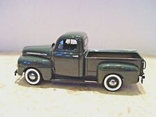 Collectible Green Danbury Mint Diecast 1951 Ford F-1 Pickup Truck Pick Up