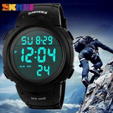 SKMEI Men's Fashion Quartz Military Digital Sports Waterproof Tactical Watch US