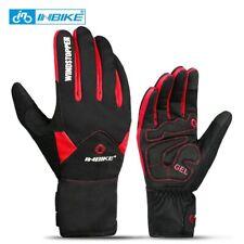 INBIKE Touch Screen Bike Gloves Winter Thermal Windproof Warm Full Finger Gloves