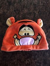 Disney Store Tigger Fleece hat size 3-9 Months Child's Infant's Baby 100% Poly