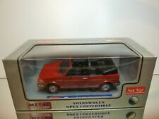 SUN STAR VW VOLKSWAGEN GOLF I - OPEN CONVERTIBLE - RED 1:18 - EXCELLENT IN BOX