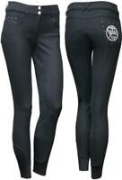 Harry´s Horse Kinder Reithose Vollbesatz Royal Plus, schwarz,  Gr. 164(67)
