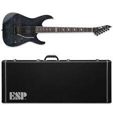 ESP LTD M-1001 See Thru Black STBLK Electric Guitar + Hardshell Case M1001 FR