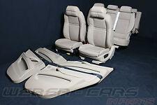 Bmw x5 e70 beige de cuero confort escaños 7 plazas cuero equipamiento equipamiento seats