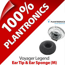 Plantronics Replacement Medium Ear Tip Gels Bud & Sponge for Voyager Legend