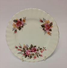 "RICHMOND - PINK ROSE DESIGN - BONE CHINA Bread & Butter Plate - 6"" Diameter"