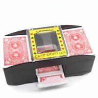 AUTOMATIC PLAYING CARDS SHUFFLER POKER CASINO ONE/TWO DECK CARD SHUFFLE SORT