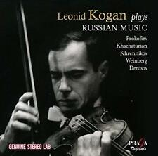 Leonid Kogan & Boston Symphony - Leonid Kogan Plays Russian Music (NEW 2CD)