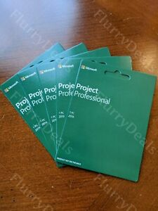 Microsoft Project Professional 2019 New