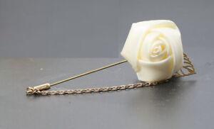 Lapel Flower Boutonniere Stick Brooch Pin Men's Shirt Suit Tie Wedding 19 Col #7