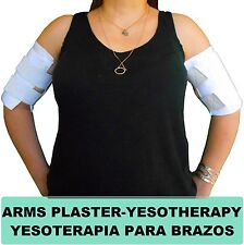 "2 Fajas de yeso Reductora para Brazos Arms Plaster Corset 7""x15"" Pulgadas Large"