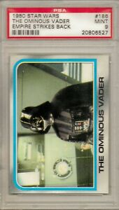 1980 Star Wars Topps Series  2 - THE OMINOUS VADER (ESB)- - - PSA 9 MINT