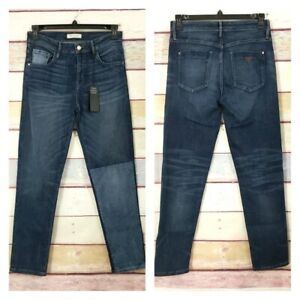 NWT Guess Jeans Boy Fit Jean Denim Parched Style Size 28